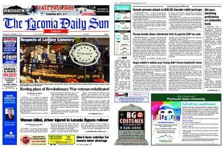 The Laconia Daily Sun – October 24, 2017