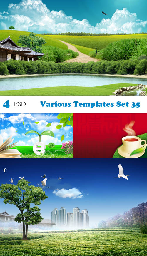 PSD - Various Templates Set 35