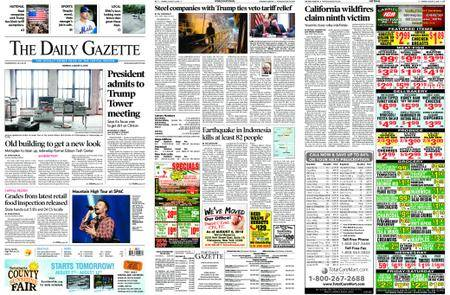 The Daily Gazette – August 06, 2018