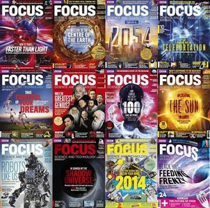 BBC Focus - Science & Technology - Full Year 2014 Collection (Repost)