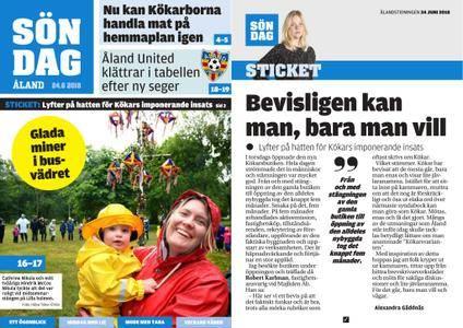 Ålandstidningen – 24 juni 2018