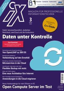 iX Magazin - März 2020