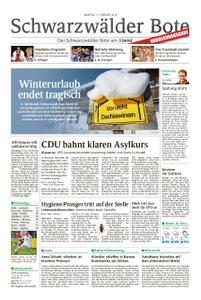 Schwarzwälder Bote Blumberg - 11. Februar 2019
