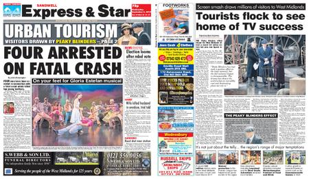 Express and Star Sandwell Edition – September 04, 2019
