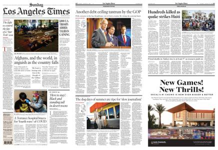 Los Angeles Times – August 15, 2021