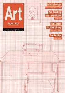 Art Monthly - June 2014   No 377