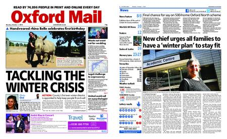 Oxford Mail – October 01, 2018