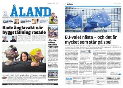 Ålandstidningen – 16 april 2019