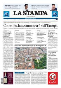 La Stampa Imperia e Sanremo - 5 Settembre 2019