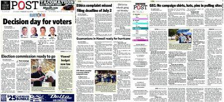 The Guam Daily Post – August 25, 2018