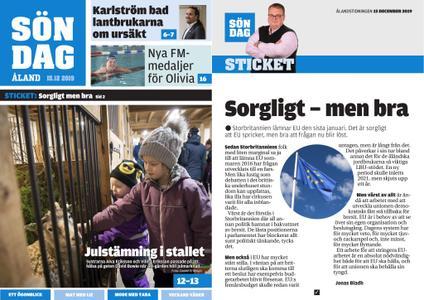 Ålandstidningen – 15 december 2019