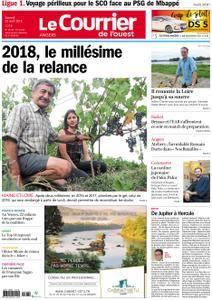 Le Courrier de l'Ouest Angers - 25 août 2018