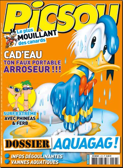 Picsou Magazine N° 473 du 3 août 2011