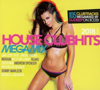 VA - House Clubhits Megamix 2018.1 (3CD) (2018) {DisQRecords/Al!ve}