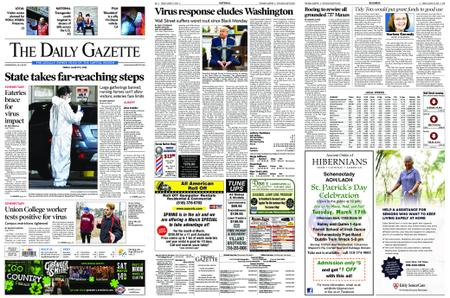 The Daily Gazette – March 13, 2020