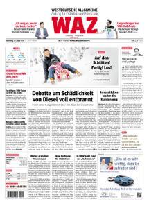 WAZ Westdeutsche Allgemeine Zeitung Oberhausen-Sterkrade - 24. Januar 2019
