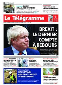 Le Télégramme Guingamp – 28 janvier 2020