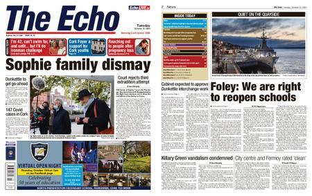 Evening Echo – October 13, 2020