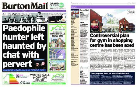 Burton Mail – September 12, 2018