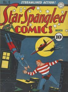 Star Spangled Comics 06 (DC) (1942-03) (c2c) (A.S.S.)