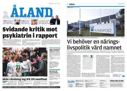 Ålandstidningen – 01 april 2019