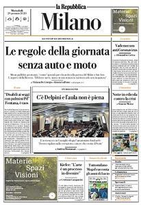 la Repubblica Milano - 29 Gennaio 2020
