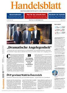 Handelsblatt - 30. September 2019