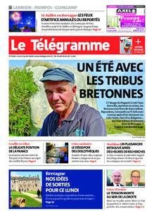 Le Télégramme Guingamp – 13 juillet 2020