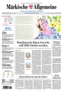 Neue Oranienburger Zeitung - 21. August 2019