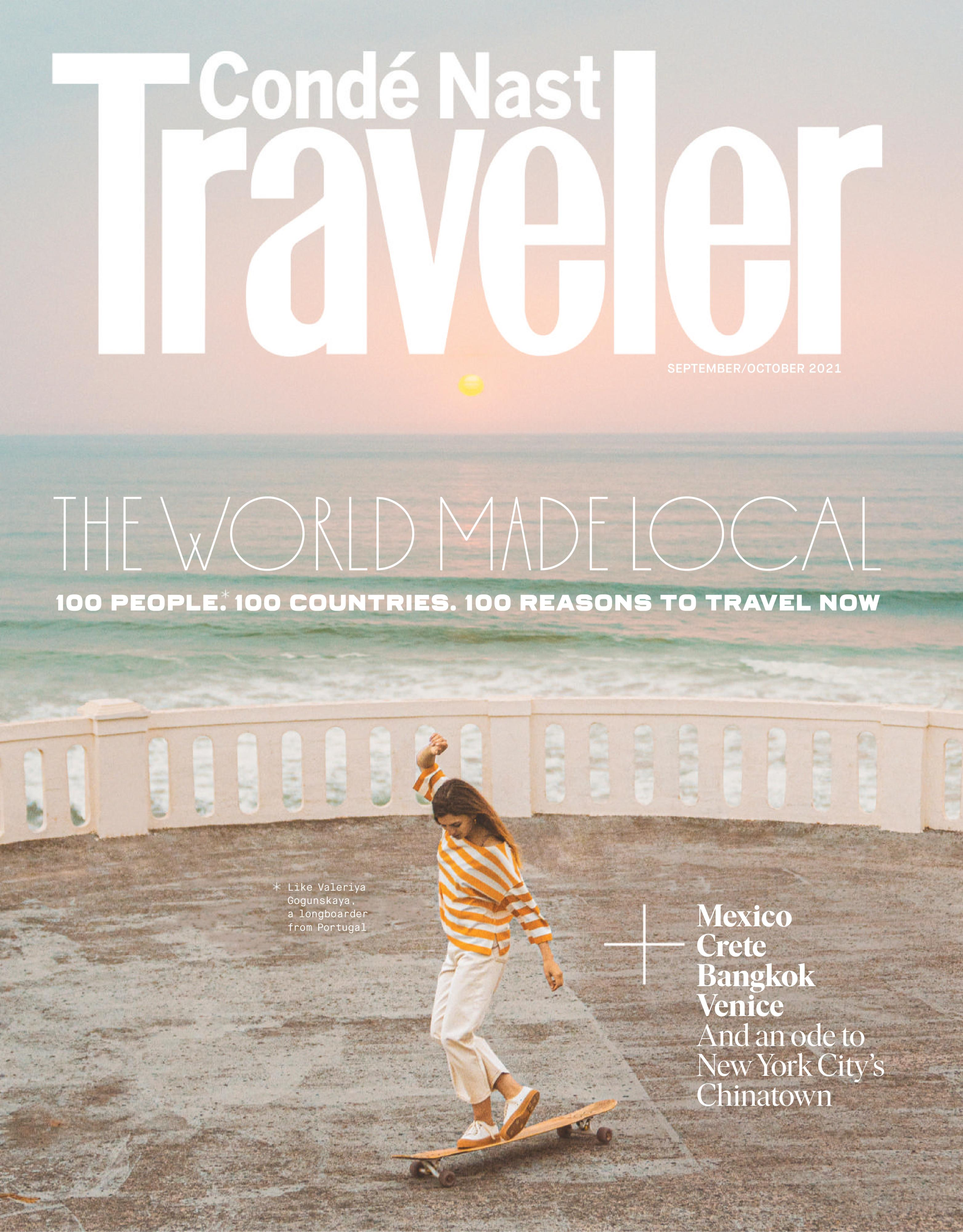 Conde Nast Traveler USA - September 2021