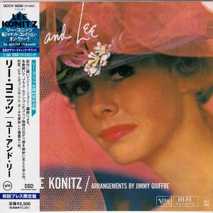 Lee Konitz - You and Lee (1959) {Japan Verve DSD Mini LP UCCV-9329 rel 2007}