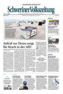 Schweriner Volkszeitung Hagenower Kreisblatt - 28. August 2018