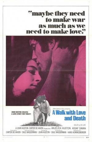 A Walk with Love and Death (1969)