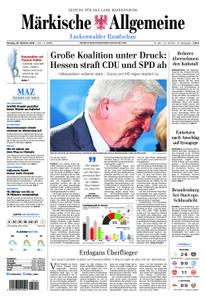 Märkische Allgemeine Luckenwalder Rundschau - 29. Oktober 2018