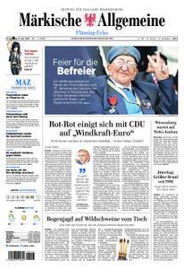 Märkische Allgemeine Fläming Echo - 06. Juni 2019