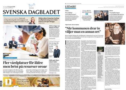 Svenska Dagbladet – 22 augusti 2019