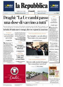 la Repubblica - 26 Febbraio 2021