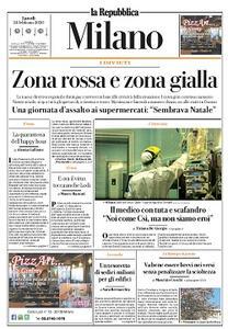 la Repubblica Milano - 24 Febbraio 2020
