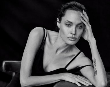 Angelina Jolie by Peter Lindbergh for Wall Street Journal November 2015