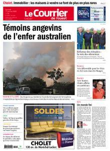 Le Courrier de l'Ouest Cholet – 11 janvier 2020