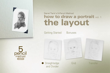 5 Pencil Method - How To Draw A Portrait [repost]