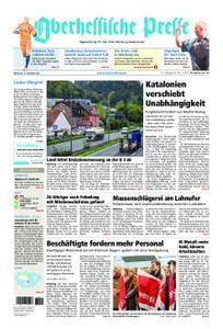 Oberhessische Presse Marburg/Ostkreis - 11. Oktober 2017