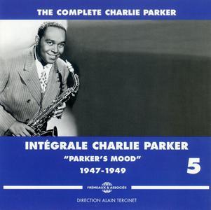 """Charlie Parker - Integrale Charlie Parker, Vol. 5, """"Parker's Mood"""", 1947-1949 (2012) {3CD Set Frémeaux & Associés FA1335}"""