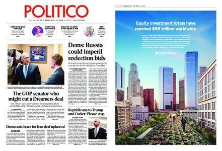 Politico – October 11, 2017