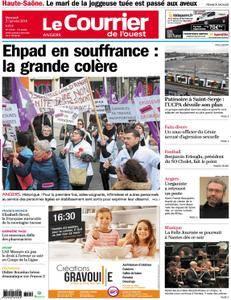Le Courrier de l'Ouest Angers - 31 janvier 2018