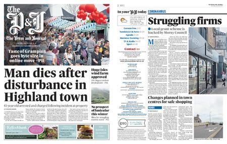 The Press and Journal Moray – June 18, 2020