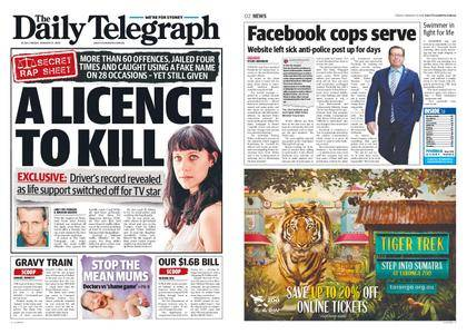 The Daily Telegraph (Sydney) – January 12, 2018