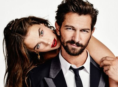 Michiel Huisman and Crista Cober by Marc de Groot for Vogue Netherlands April 2015