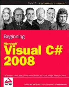 Beginning Microsoft Visual C# 2008 (repost)