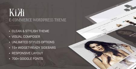 ThemeForest - Kiki v2.0.1 - Multipurpose Modern WooCommerce Fashion Shop - 15158504